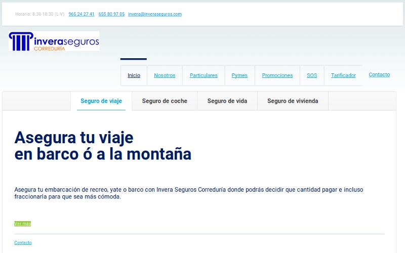 Pagina web Inveraseguros