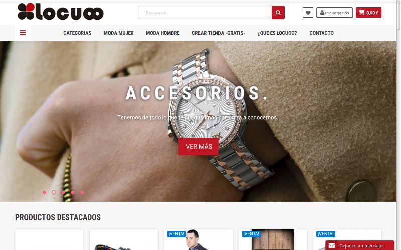Pagina web Locuoo